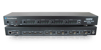 CSW-HD442-4K60 - HDMI 4x4 True Matrix Switcher Splitter with IP Control